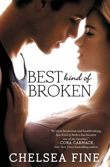 Paperback Launch Day & Giveaway: Best Kind of Broken (Finding Fate #1) by Chelsea Fine