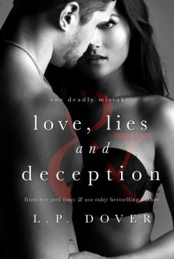 Cover Re-Reveal: Love, Lies, and Deception by L.P. Dover