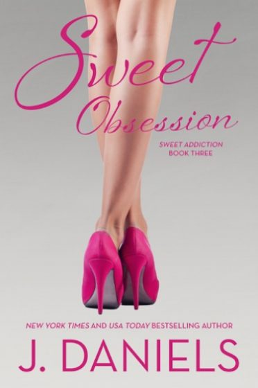 Cover Reveal & Giveaway: Sweet Obsession (Sweet Addiction #3) by J. Daniels