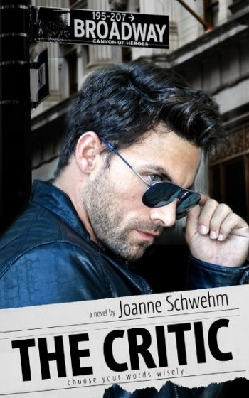 Cover Reveal: The Critic by Joanne Schwehm