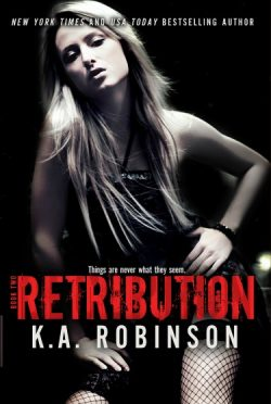 Cover Reveal & Giveaway: Retribution (Deception #2) by K.A. Robinson