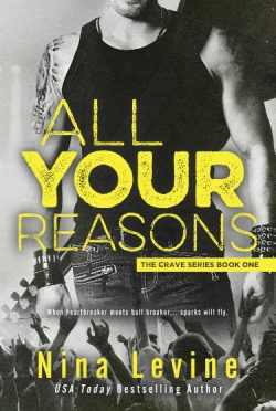 Release Day Launch & Giveaway: All Your Reasons (Crave #1) by Nina Levine