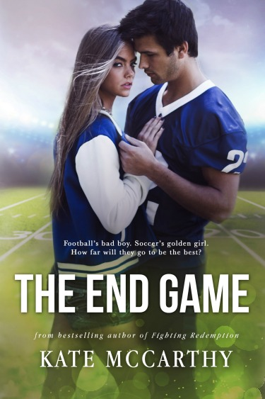 Cover Reveal: The End Game by Kate McCarthy