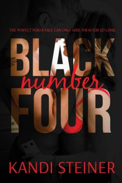Cover Reveal: Black Number Four by Kandi Steiner