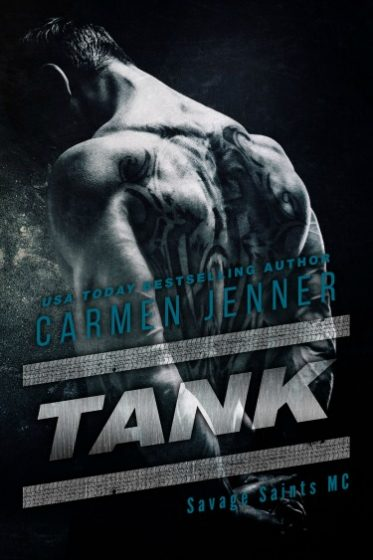 Cover Reveal & Giveaway: Tank (Savage Saints MC, #2) by Carmen Jenner
