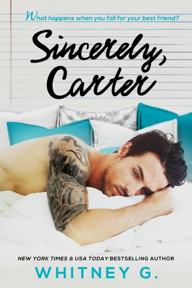 Secret Cover Reveal: Sincerely, Carter by Whitney Gracia Williams
