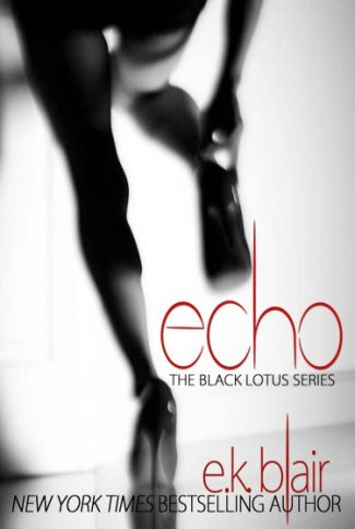 Cover Reveal: Echo (Black Lotus #2) by E.K. Blair
