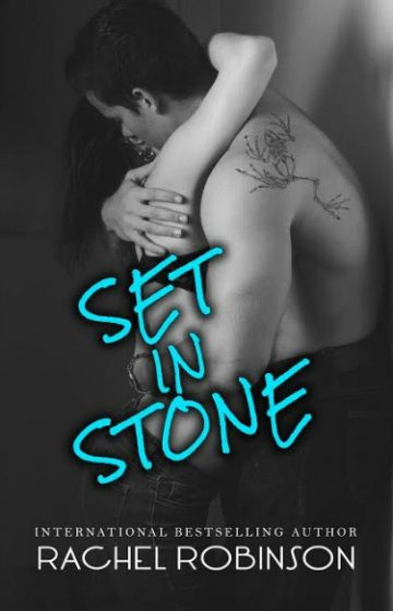 Cover Reveal: Set in Stone by Rachel Robinson