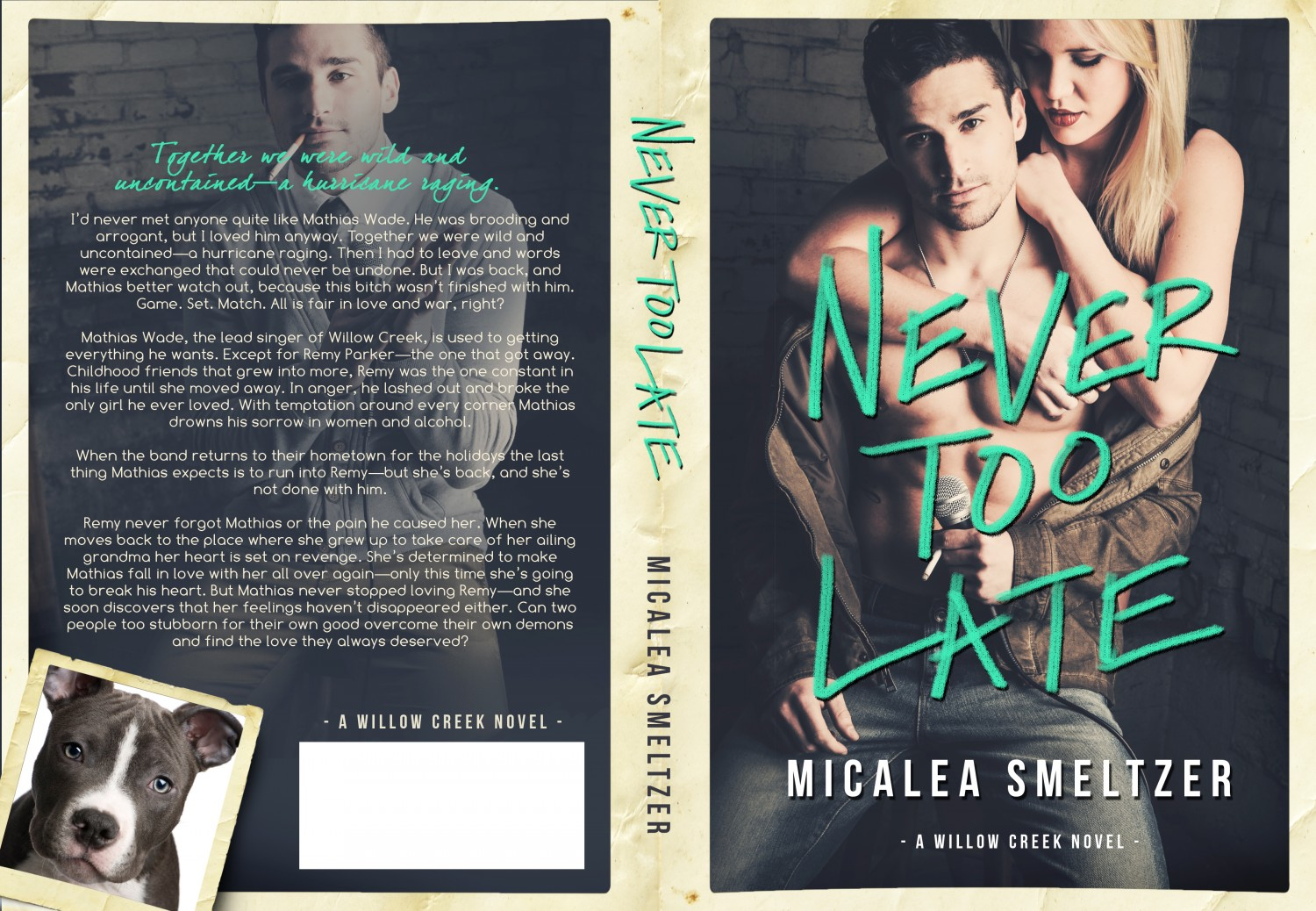 Never Too Late Full Jacket