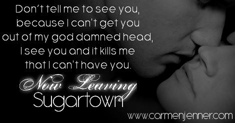 Now Leaving Sugartown by Carmen Jenner Teaser