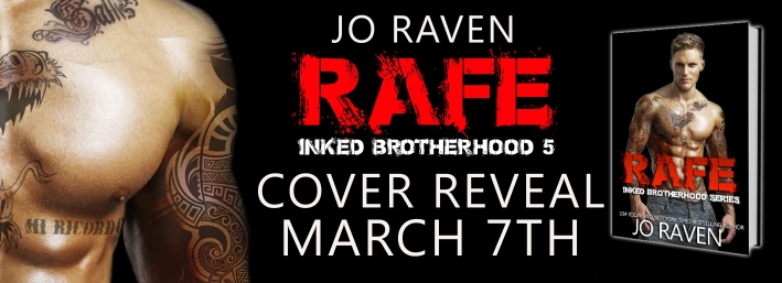 Cover Reveal Rafe Inked Brotherhood 5 By Jo Raven Books To Breathe