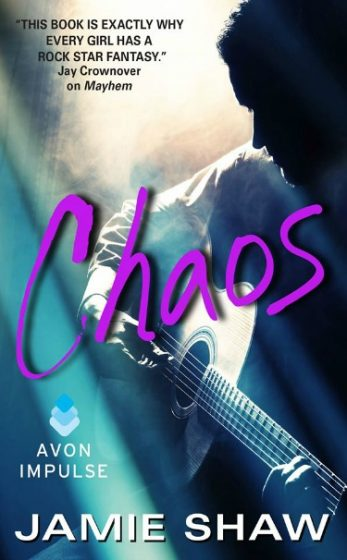 Cover Reveal: Chaos (Mayhem #3) by Jamie Shaw