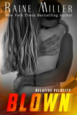 Cover Reveal: Blown, Relative Velocity by Raine Miller