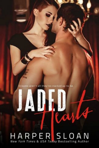 Cover Reveal: Jaded Hearts (Loaded Replay #1) by Harper Sloan