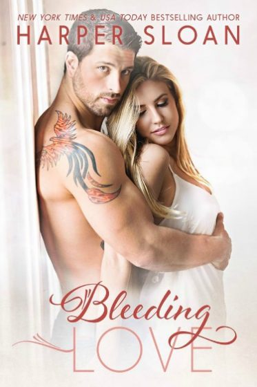 Cover Reveal: Bleeding Love (Hope Town, #2) by Harper Sloan
