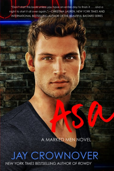 Release Day Launch & Giveaway: Asa (Marked Men #6) by Jay Crownover
