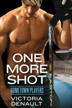 Cover Reveal: One More Shot (Hometown Players #1) by Victoria Denault