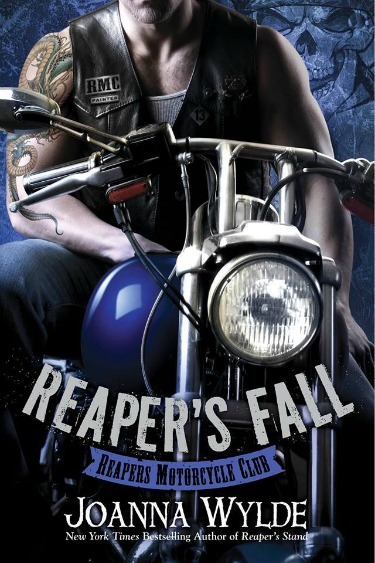 Cover Reveal: Reaper's Fall (Reapers MC #5) by Joanna Wylde