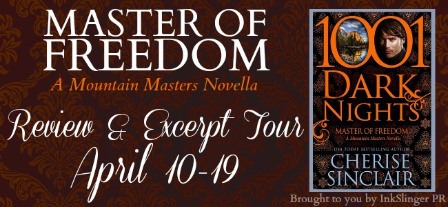 Master of Freedom Revie & Excerpt Tour -  banner