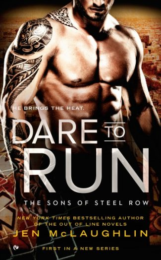 Cover Reveal, Scavenger Hunt & Giveaway: Dare to Run (The Sons of Steel Row #1) by Jen McLaughlin