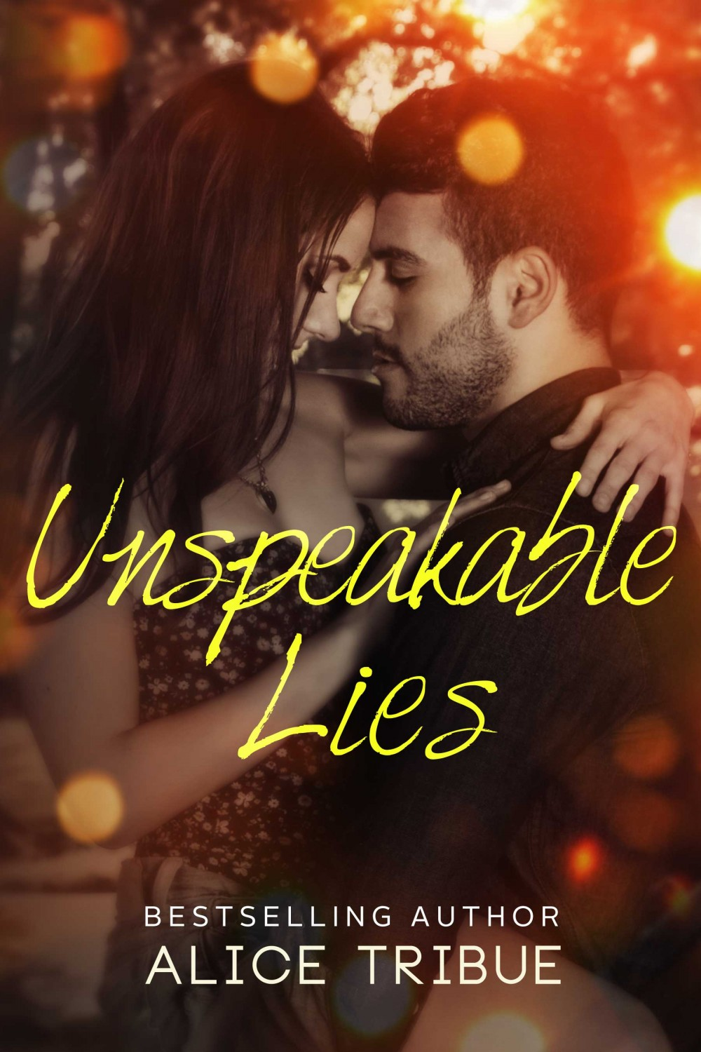 Unspeakable Lies Ebook Cover