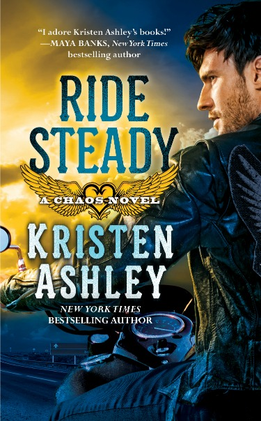 Review & Giveaway: Ride Steady (Chaos #3) by Kristen Ashley