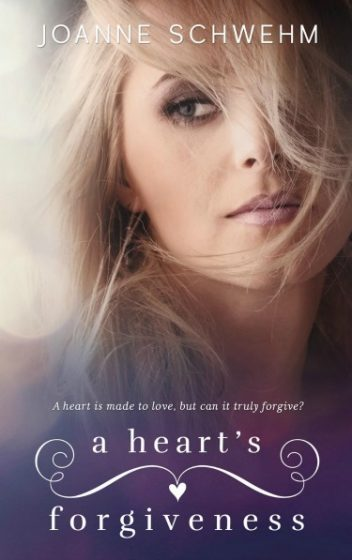 Cover Reveal & Giveaway: A Heart's Forgiveness (Chance #3) by Joanne Schwehm