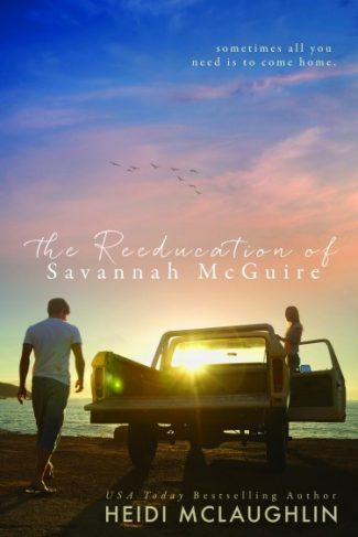 Cover Reveal: The Reeducation of Savannah McGuire by Heidi McLaughlin