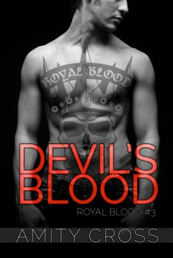 Cover Reveal & Giveaway: Devil's Blood (Royal Blood #3) by Amity Cross