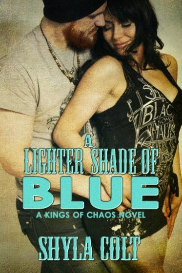 Release Day Blitz & Giveaway: A Lighter Shade of Blue (Kings of Chaos #2) by Shyla Colt