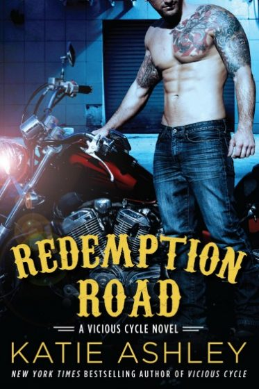 Cover Reveal: Redemption Road (Vicious Cycle #2) by Katie Ashley