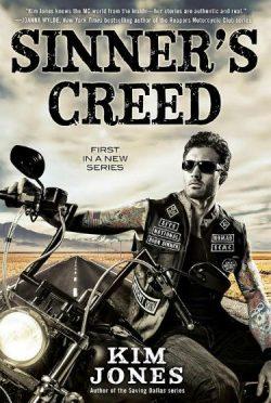 Cover Reveal: Sinner's Creed (Sinner's Creed MC #1) by Kim Jones