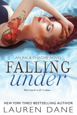 Release Week Blitz & Giveaway: Falling Under (Ink & Chrome #2) by Lauren Dane