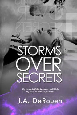 Cover Reveal & Giveaway: Storms Over Secrets (Over #3) by J.A. DeRouen