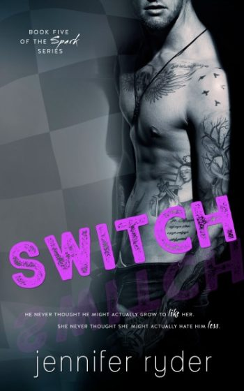 Release Day Blitz & Giveaway: Switch (Spark #5) by Jennifer Ryder