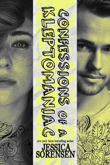 Cover Reveal: Confessions of a Kleptomaniac (Rebels & Misfits #1) by Jessica Sorensen