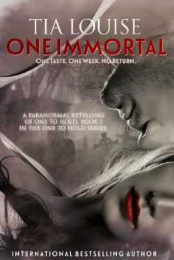 Cover Reveal: One Immortal by Tia Louise