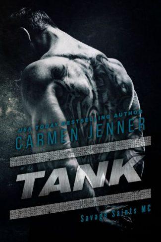 Release Day Blitz & Giveaway: Tank (Savage Saints MC #2) by Carmen Jenner