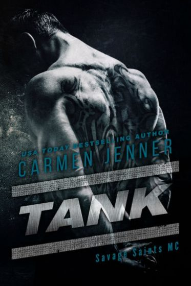 Release Day Blitz & Giveaway: Tank (Savage Saints MC #2) by Carmen Jenner
