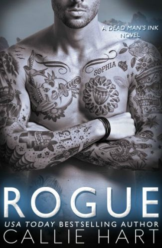 Cover Reveal & Giveaway: Rogue (Dead Man's Ink #2) by Callie Hart