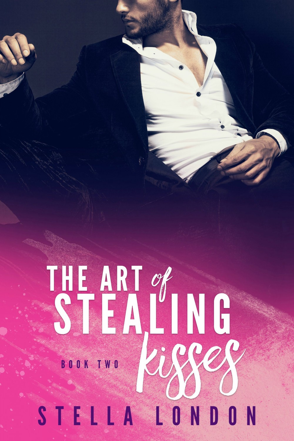Book 2 Cover - The Art of Stealing Kisses