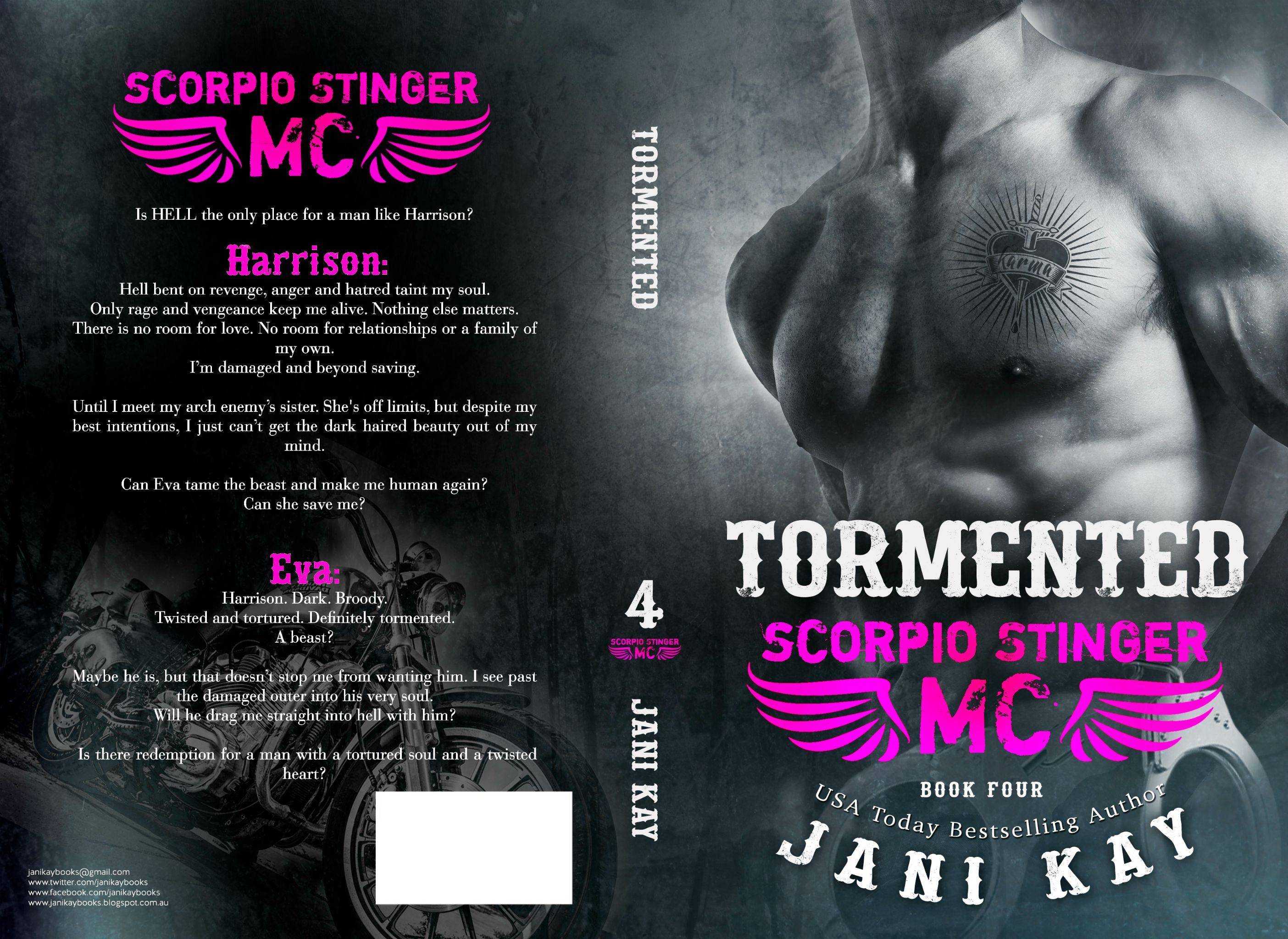 Tormented Final Jacket