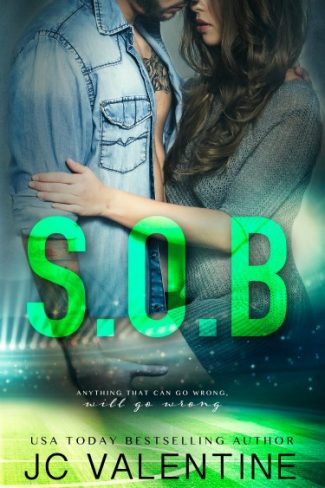Cover Reveal & Giveaway: S.O.B. by J.C. Valentine