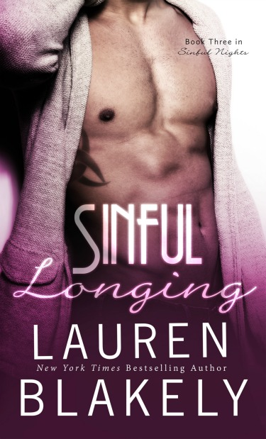 Cover Reveal: Sinful Longing (Sinful Nights #3) by Lauren Blakely