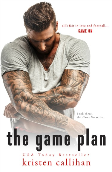 Cover Reveal: The Game Plan (Game On #3) by Kristen Callihan
