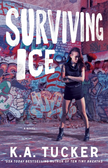 Release Day Blitz & Giveaway: Surviving Ice (Burying Water #4) by K.A. Tucker
