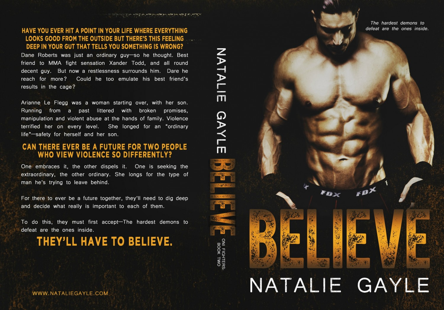 Believe Full Jacket