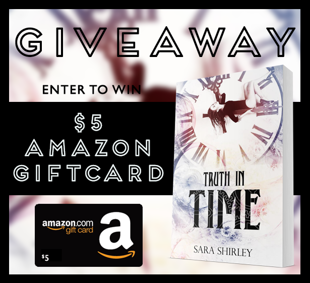 Truth In Time Giveaway Graphic