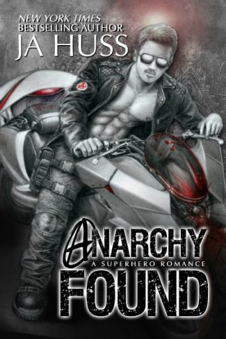 Cover Reveal & Giveaway: Anarchy Found (SuperAlpha #1) by JA Huss