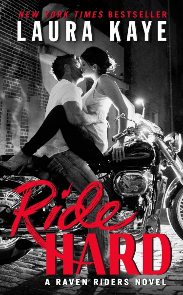 Cover Reveal: Ride Hard (Raven Riders MC #1) by Laura Kaye